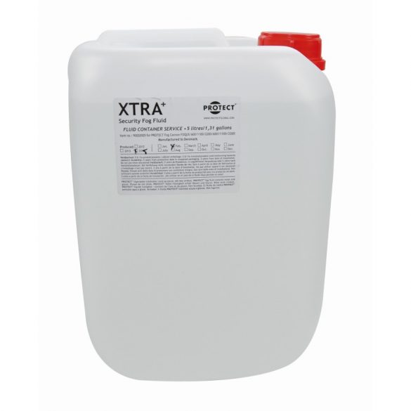 XTRA+ Fog Fluid 5 l. for demo