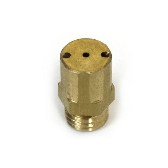 Three-hole 90° nozzle
