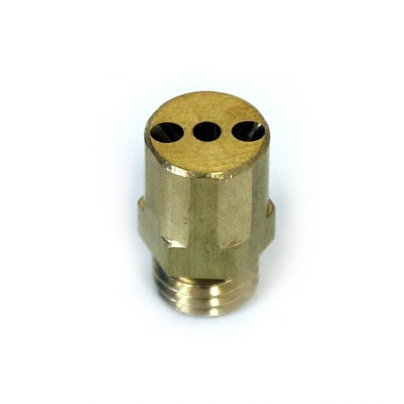 Three-hole 90° nozzle