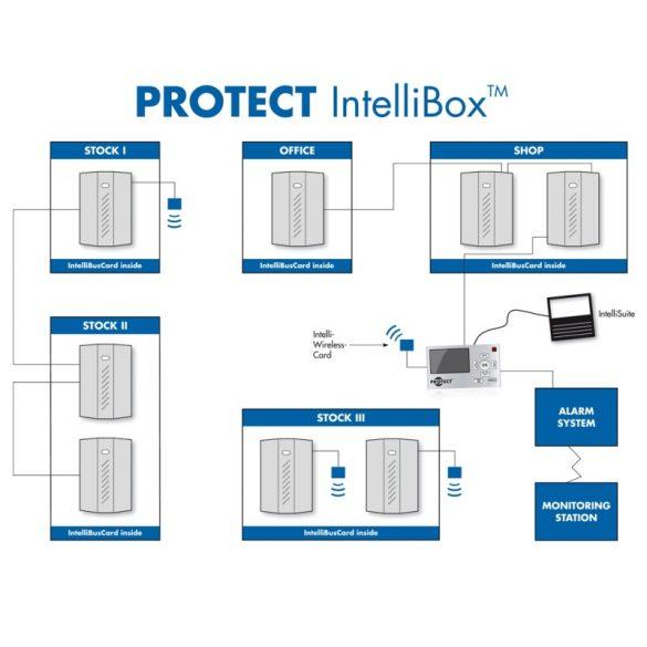 IntelliWirelessCard connection unit